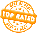 Top Rated Badge Of Approval