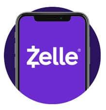 Zelle Phone Icon