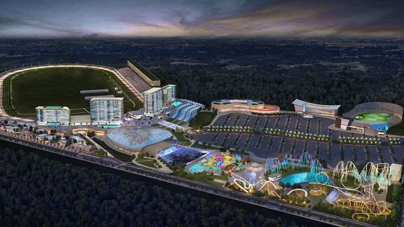 Atlanta Motor Speedway Casino Resort Concept