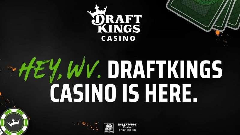 announcement for draftkings legal west virginia casino gambling app