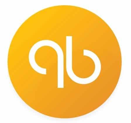 qb orange circle logo