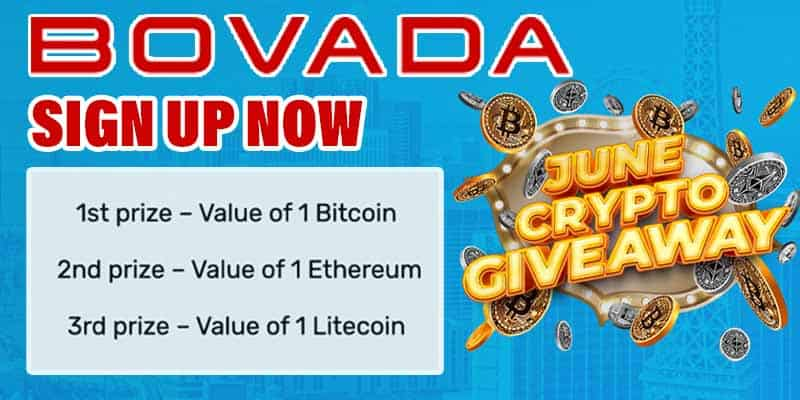 Bovada Crypto Giveaway